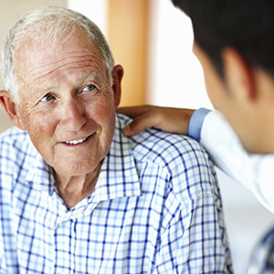 Dentist for long-term care facility residents